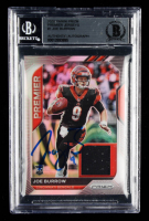 Joe Burrow Signed 2020 Panini Prizm Premier Jerseys #1 (BGS Encapsulated) at PristineAuction.com