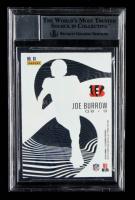 Joe Burrow Signed 2020 Panini Illusions Mystique #1 (BGS Encapsulated) at PristineAuction.com