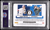 Austin Martin / Spencer Torkelson 2020 Panini Contenders Round Numbers Dual Autographs #1 (PSA 8) at PristineAuction.com