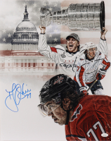 T.J. Oshie Signed Capitals 16x20 Photo (JSA Hologram) at PristineAuction.com