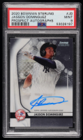 Jasson Dominguez 2020 Bowman Sterling Prospect Autographs #BSPAJD (PSA 9) at PristineAuction.com