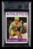 Tony LaRussa Signed 1964 Topps #244 RC (BGS Encapsulated) at PristineAuction.com