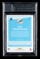 Tua Tagovailoa Signed 2020 Donruss #302 RR RC (BGS Encapsulated) at PristineAuction.com