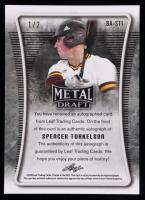 Spencer Torkelson 2020 Leaf Metal Draft Orange Mojo #BAST1 at PristineAuction.com