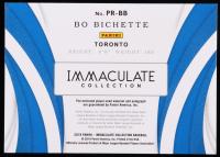 Bo Bichette 2019 Immaculate Collection Premium Memorabilia Autographs #4 at PristineAuction.com
