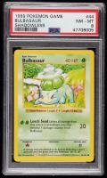 Bulbasaur 1999 Pokemon Base Shadowless #44 (PSA 9) at PristineAuction.com