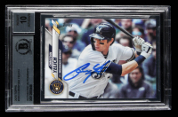 Christian Yelich Signed 2020 Topps #200 (BGS Encapuslated) at PristineAuction.com