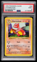 Charmeleon 1999 Pokemon Base Shadowless #24 U (PSA 9) at PristineAuction.com