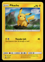 Pikachu 2020 Pokemon Sun & Shield Moon SM183 at PristineAuction.com