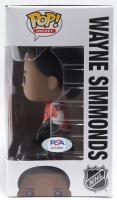 Wayne Simmonds Signed Flyers NHL #18 Funko Pop! Hockey Vinyl Figure (PSA Hologram) (See Description) at PristineAuction.com