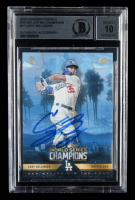 Cody Bellinger Signed 2020 Dodgers Topps x Ben Baller World Series Champions #27 (BGS Encapsulated) at PristineAuction.com