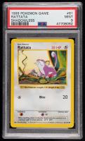 Rattata 1999 Pokemon Base Shadowless #61 C (PSA 9) at PristineAuction.com