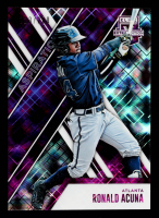 Ronald Acuna 2017 Elite Extra Edition Aspirations Purple #31 at PristineAuction.com