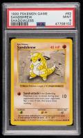 Sandshrew 1999 Pokemon Base Shadowless #62 C (PSA 9) at PristineAuction.com