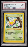 Weedle 1999 Pokemon Base Shadowless #69 (PSA 9) at PristineAuction.com