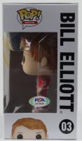 Bill Elliott Signed NASCAR #03 Funko Pop! Vinyl Figure (PSA Hologram) at PristineAuction.com