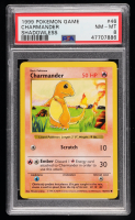 Charmander 1999 Pokemon Base Shadowless #46 C (PSA 8) at PristineAuction.com