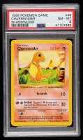 Charmander 1999 Pokemon Base Shadowless #46 C (PSA 8) at PristineAuction.com