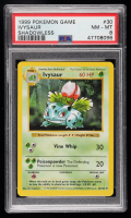 Ivysaur 1999 Pokemon Base Shadowless #30 U (PSA 8) at PristineAuction.com
