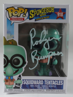 "Rodger Bumpass Signed ""The SpongeBob Movie: Sponge on the Run"" #918 Squidward Tentacles Funko Pop! Vinyl Figure (PSA Hologram) (See Description) at PristineAuction.com"