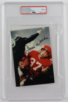 Doak Walker Signed Lions 4x6 Photo (PSA Encapsulated) at PristineAuction.com