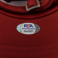 "Rodger Bumpass Signed ""Spongebob Squarepants"" The Krusty Krab Adjustable Hat Inscribed ""Squidward"" (PSA COA) at PristineAuction.com"