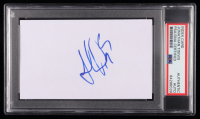 Jonathan Toews Signed 3x5 Index Card (PSA Encapsulated) at PristineAuction.com