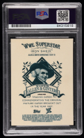 Iron Sheik Signed 2008 Topps Heritage III Chrome WWE Allen and Ginter Superstars #10 (PSA Encapsulated) at PristineAuction.com