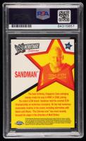 Sandman Signed 2007 Topps Heritage II Chrome WWE #19 (PSA Encapsulated) at PristineAuction.com