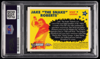 """Jake """"The Snake"""" Roberts Signed 2006 Topps Heritage Chrome WWE #79 L (PSA Encapsulated) at PristineAuction.com"""