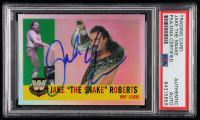 "Jake ""The Snake"" Roberts Signed 2006 Topps Heritage Chrome WWE #79 L (PSA Encapsulated) at PristineAuction.com"