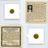 Rome: World's Greatest Empire. AD 240-410 - Ancient Bronze Coin with Album at PristineAuction.com