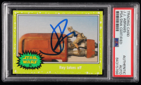 J.J. Abrams Signed 2015 Star Wars Journey to The Force Awakens Jabba Slime Green #85 Rey Takes Off (PSA Encapsulated) at PristineAuction.com