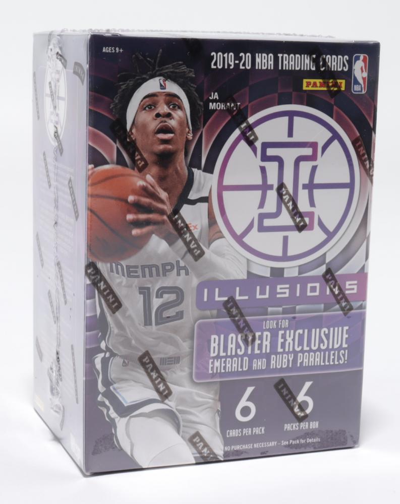 2019 / 20 Panini Illusions Basketball Blaster Box Box of (6) Packs at PristineAuction.com