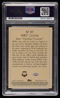 """Jerry """"The King"""" Lawler Signed 2007 Topps Heritage II Chrome WWE #97 TR (PSA Encapsulated) at PristineAuction.com"""