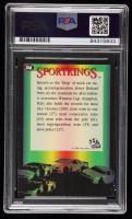 Richard Petty Signed 1995 Press Pass #126 S (PSA Encapsulated) at PristineAuction.com
