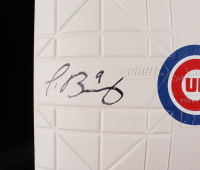 Javier Baez Signed 2016 World Series Cubs Logo Baseball Plate (Fanatics Hologram) at PristineAuction.com