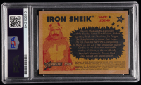 Iron Sheik Signed 2005 Topps Heritage WWE #78 L (PSA Encapsulated) at PristineAuction.com