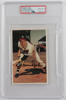 Warren Spahn Signed 1982 TCMA Stars of the 50's #14 (PSA Encapsulated) at PristineAuction.com
