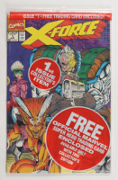 "1991 ""X-Force"" Issue #1A Collector's Edition Marvel Comic Book at PristineAuction.com"