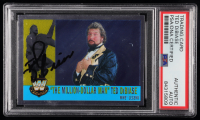"Ted DiBiase Signed 2006 Topps Heritage Chrome WWE #88 ""The Million-Dollar Man"" L (PSA Encapsulated) at PristineAuction.com"