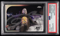 Jeff Hardy Signed 2020 Topps Chrome WWE Refractors #30 (PSA Encapsulated) at PristineAuction.com