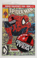 """1991 """"Spider-Man"""" Issue #1 Green Edition Marvel Comic Book (See Description) at PristineAuction.com"""