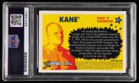 Kane Signed 2006 Topps Heritage Chrome WWE #21 (PSA Encapsulated) at PristineAuction.com