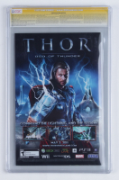 """Greg Horn Signed 2011 """"FF"""" Issue #2 Thor Hollywood Variant Cover Marvel Comic Book (CGC Encapsulated - 9.6) at PristineAuction.com"""