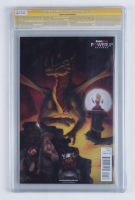 """Stan Lee Signed 2015 """"Star Wars"""" Issue #1 GameStop Variant Marvel Comic Book (CGC Encapsulated - 9.6) at PristineAuction.com"""