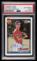 Chipper Jones Signed 1991 Topps #333 RC (PSA Encapsulated) at PristineAuction.com