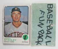 1973 Topps Baseball Card Fun Pack with (10) Cards (See Description) at PristineAuction.com
