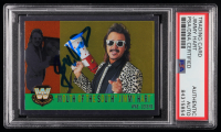 "Jimmy Hart Signed 2006 Topps Heritage Chrome WWE #82 ""Mouth of the South"" L (PSA Encapsulated) at PristineAuction.com"