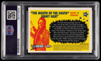 """Jimmy Hart Signed 2006 Topps Heritage Chrome WWE #82 """"Mouth of the South"""" L (PSA Encapsulated) at PristineAuction.com"""